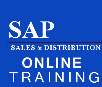 SAP Sales and Distribution Online Training